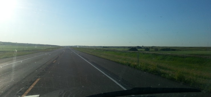 The wide open land of Iowa