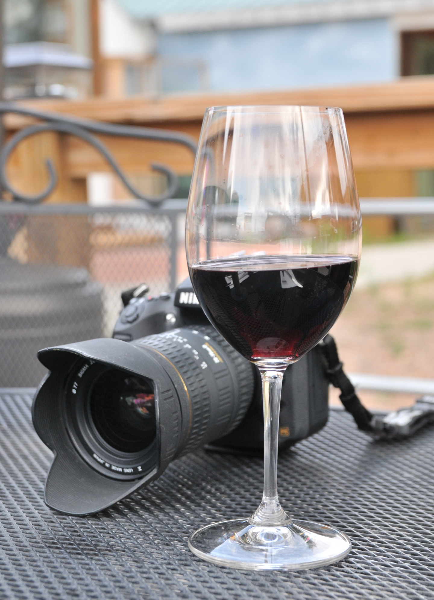 Camera and cabernet