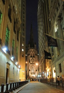Church near Wall Street