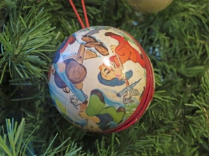 Swiss Christmas Tree Ornament